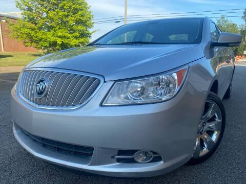 2010 Buick LaCrosse for sale at Gwinnett Luxury Motors in Buford GA