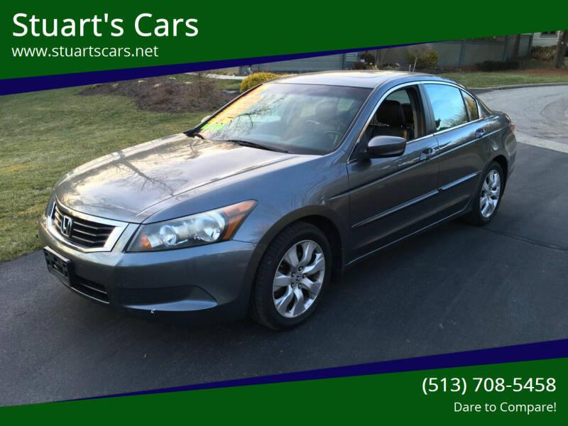 2010 Honda Accord for sale at Stuart's Cars in Cincinnati OH