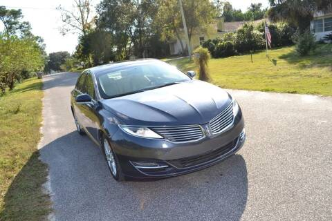2014 Lincoln MKZ for sale at Car Bazaar in Pensacola FL