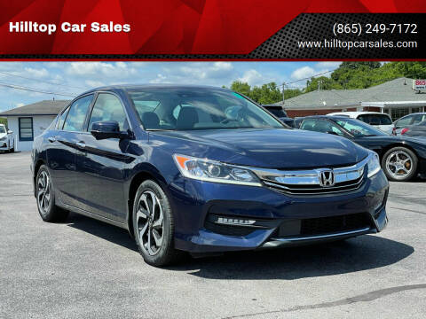 2016 Honda Accord for sale at Hilltop Car Sales in Knoxville TN