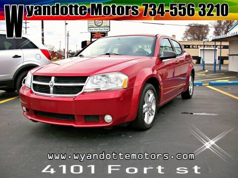 2010 Dodge Avenger for sale at Wyandotte Motors in Wyandotte MI