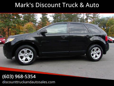 2014 Ford Edge for sale at Mark's Discount Truck & Auto in Londonderry NH
