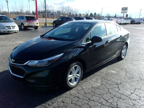 2017 Chevrolet Cruze for sale at DAVE KNAPP USED CARS in Lapeer MI