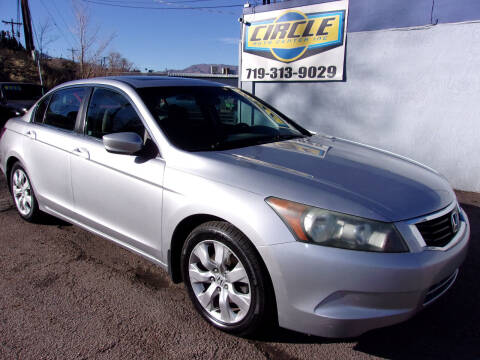 2010 Honda Accord for sale at Circle Auto Center in Colorado Springs CO