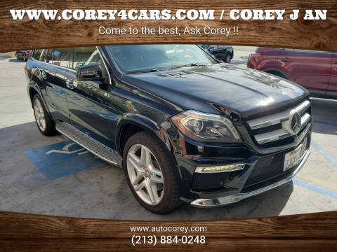 2015 Mercedes-Benz GL-Class for sale at WWW.COREY4CARS.COM / COREY J AN in Los Angeles CA