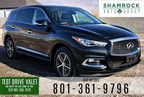 2017 Infiniti QX60 for sale at Shamrock Group LLC #1 in Pleasant Grove UT
