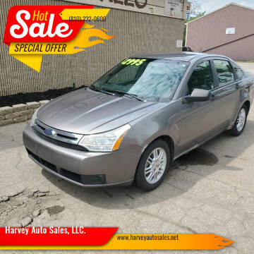 2010 Ford Focus for sale at Harvey Auto Sales, LLC. in Flint MI