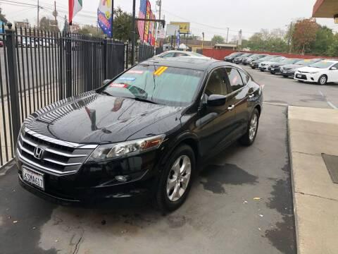 2011 Honda Accord Crosstour for sale at Mega Motors Inc. in Stockton CA