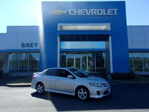 2012 Toyota Corolla for sale at Grey Chevrolet, Inc. in Port Orchard WA