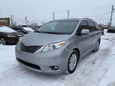 2013 Toyota Sienna for sale at Crooza in Dearborn MI
