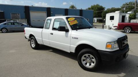 2011 Ford Ranger for sale at CENTER AVENUE AUTO SALES in Brodhead WI