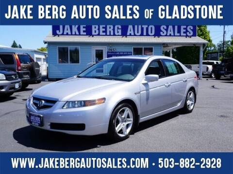 2004 Acura TL for sale at Jake Berg Auto Sales in Gladstone OR