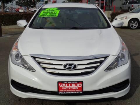 2014 Hyundai Sonata for sale at Vallejo Motors in Vallejo CA