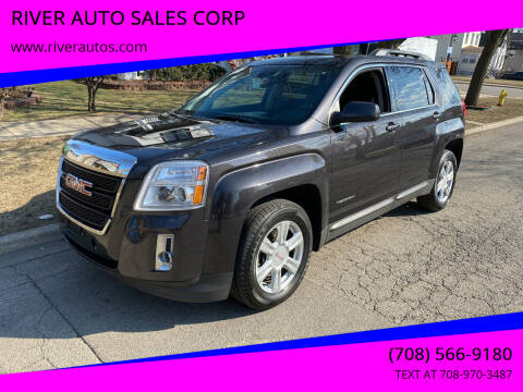 2014 GMC Terrain for sale at RIVER AUTO SALES CORP in Maywood IL