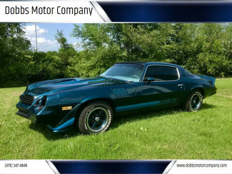 1979 Chevrolet Camaro for sale at Dobbs Motor Company in Springdale AR
