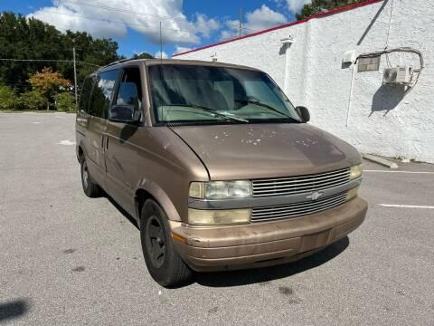 2000 Chevrolet Astro for sale at LUXURY AUTO MALL in Tampa FL