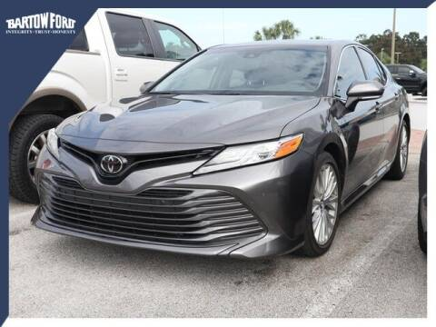 2018 Toyota Camry for sale at BARTOW FORD CO. in Bartow FL