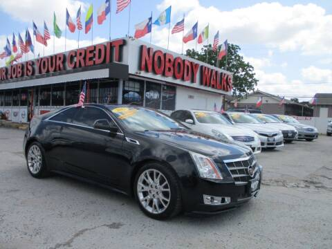 2011 Cadillac CTS for sale at Giant Auto Mart 2 in Houston TX