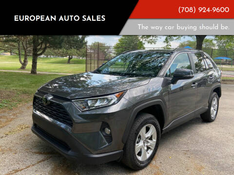 2019 Toyota RAV4 for sale at European Auto Sales in Bridgeview IL