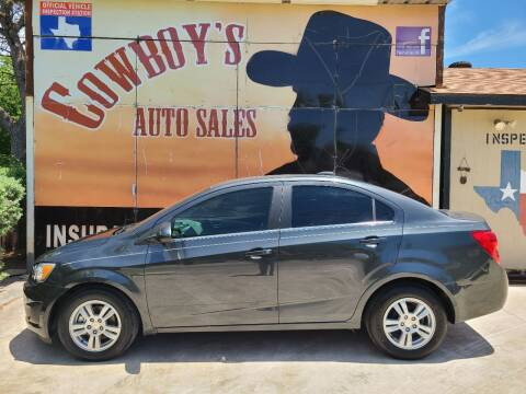 2015 Chevrolet Sonic for sale at Cowboy's Auto Sales in San Antonio TX
