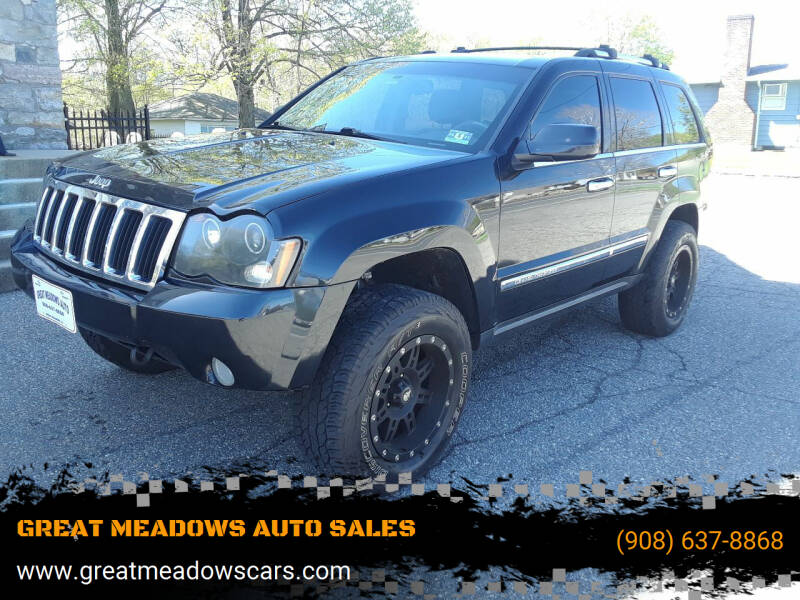 2010 Jeep Grand Cherokee for sale at GREAT MEADOWS AUTO SALES in Great Meadows NJ