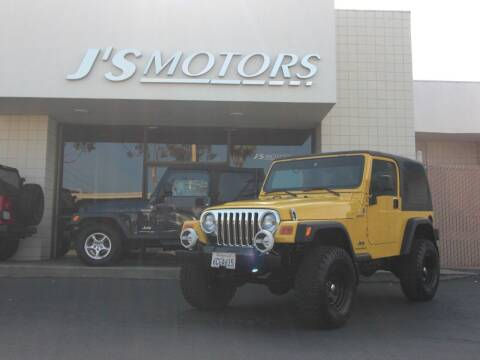 2004 Jeep Wrangler for sale at J'S MOTORS in San Diego CA