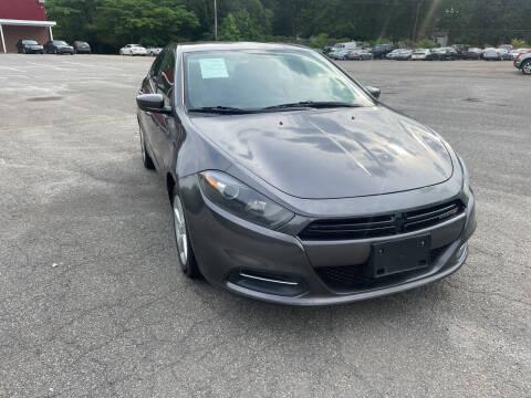 2016 Dodge Dart for sale at Certified Motors LLC in Mableton GA