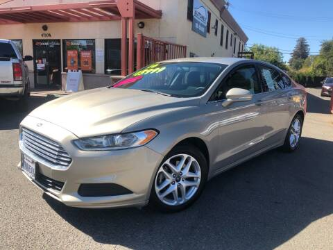 2016 Ford Fusion for sale at AUTOMEX in Sacramento CA