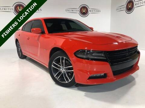 2018 Dodge Charger for sale at Unlimited Motors in Fishers IN