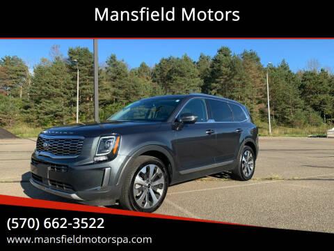 2020 Kia Telluride for sale at Mansfield Motors in Mansfield PA