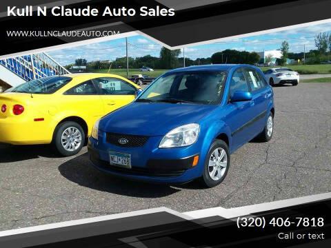 2008 Kia Rio5 for sale at Kull N Claude Auto Sales in Saint Cloud MN