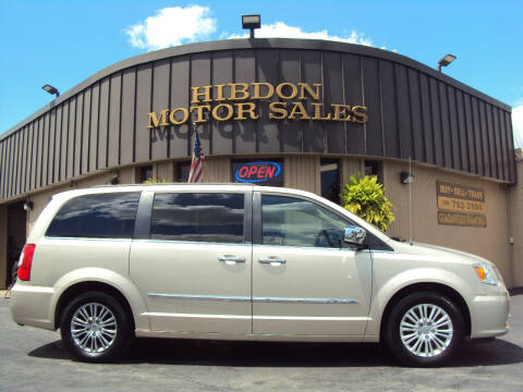 2014 Chrysler Town and Country for sale at Hibdon Motor Sales in Clinton Township MI