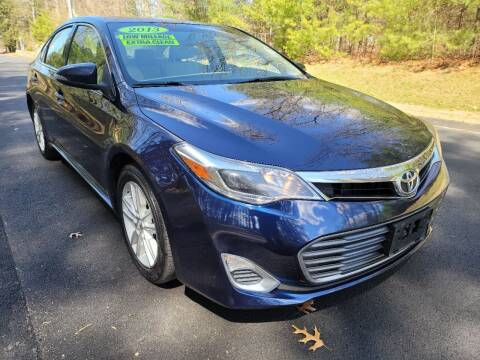 2013 Toyota Avalon for sale at Showcase Auto & Truck in Swansea MA