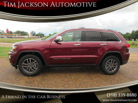 2019 Jeep Grand Cherokee for sale at Tim Jackson Automotive in Jonesville LA