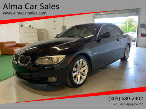 2012 BMW 3 Series for sale at Alma Car Sales in Miami FL