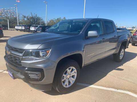 2021 Chevrolet Colorado for sale at JOHN HOLT AUTO GROUP, INC. in Chickasha OK