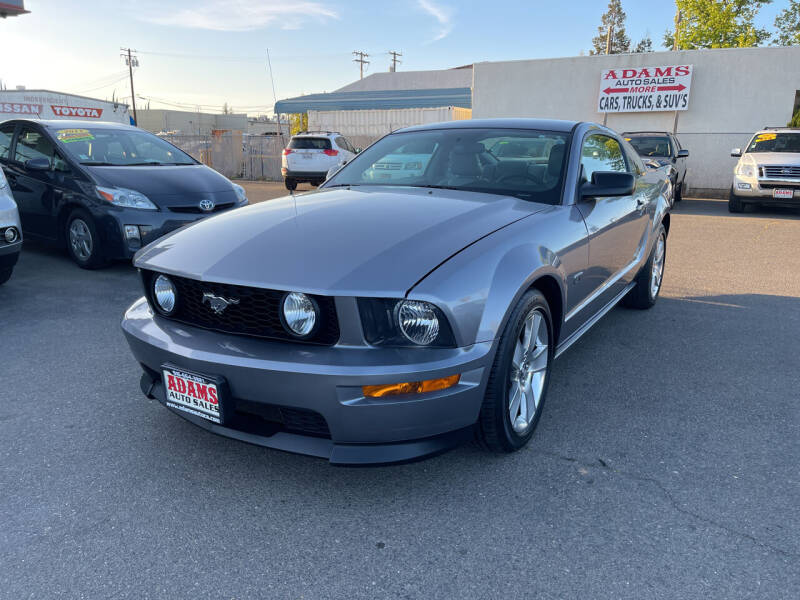 2007 Ford Mustang for sale at Adams Auto Sales in Sacramento CA