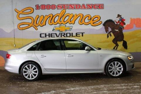 2014 Audi A4 for sale at Sundance Chevrolet in Grand Ledge MI