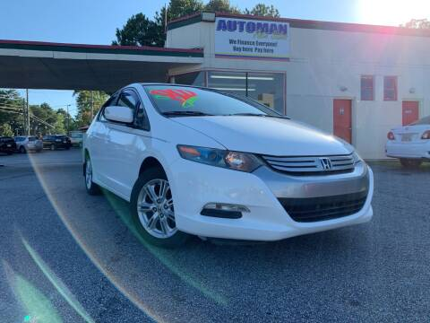 2010 Honda Insight for sale at Automan Auto Sales, LLC in Norcross GA