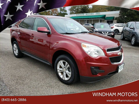 2011 Chevrolet Equinox for sale at Windham Motors in Florence SC