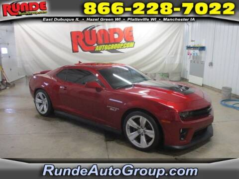 2013 Chevrolet Camaro for sale at Runde Chevrolet in East Dubuque IL