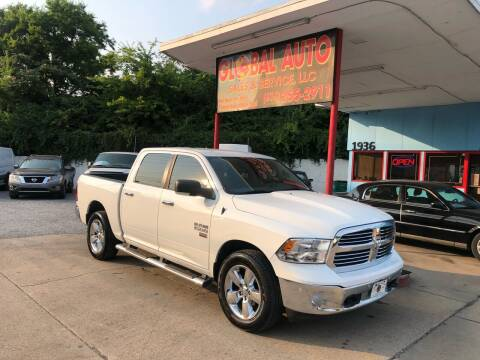 2016 RAM Ram Pickup 1500 for sale at Global Auto Sales and Service in Nashville TN