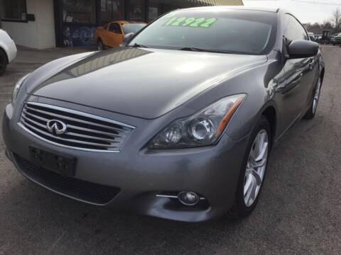 2013 Infiniti G37 Coupe for sale at LOWEST PRICE AUTO SALES, LLC in Oklahoma City OK