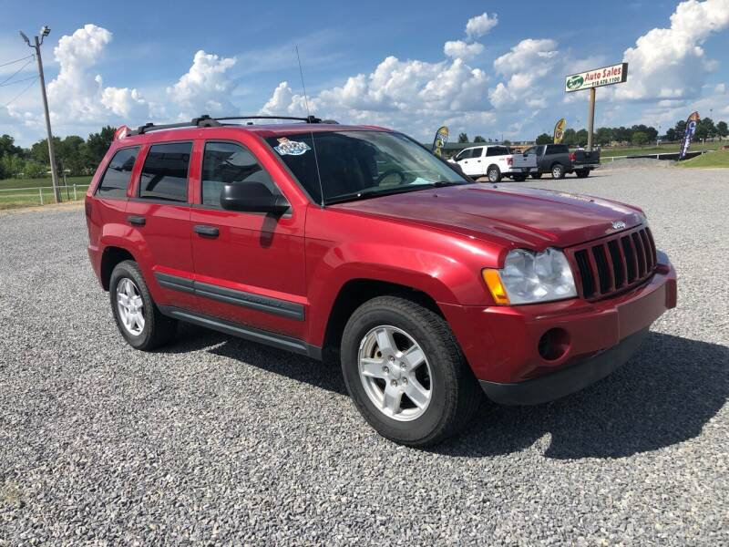 2006 Jeep Grand Cherokee for sale at RAYMOND TAYLOR AUTO SALES in Fort Gibson OK