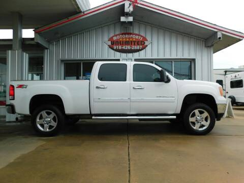 2013 GMC Sierra 2500HD for sale at Motorsports Unlimited in McAlester OK