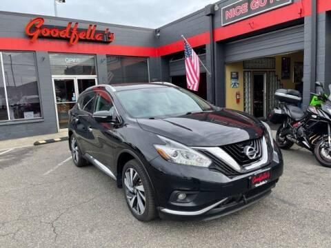 2015 Nissan Murano for sale at Goodfella's  Motor Company in Tacoma WA