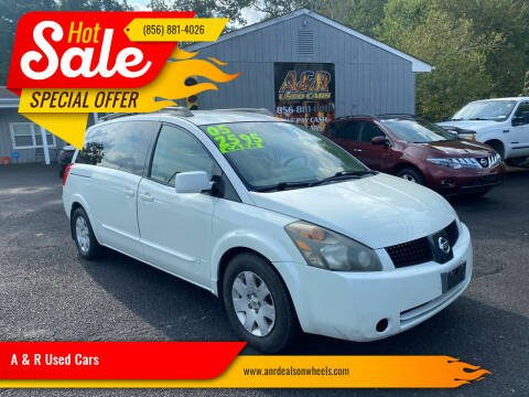 2005 Nissan Quest for sale at A & R Used Cars in Clayton NJ