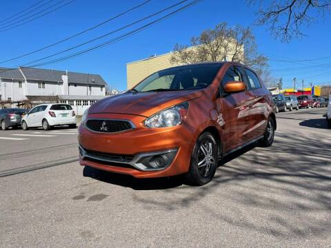2018 Mitsubishi Mirage for sale at Kapos Auto, Inc. in Ridgewood, Queens NY
