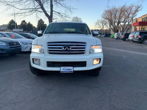 2006 Infiniti QX56 for sale at Global Automotive Imports of Denver in Denver CO