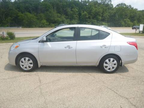2012 Nissan Versa for sale at NEW RIDE INC in Evanston IL
